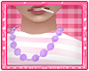 Purple Peal Necklace