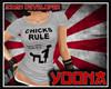 New Chicks Rule Tshirt