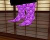 prince purple boots