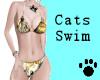 Cats Swim Wear