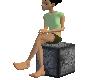Carbon Stone Seat