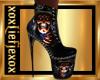 [L] USA Skulls Boots F