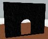 !Black Stucco Doorway