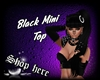 Black Mini Top