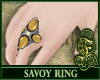 Savoy Ring Yellow