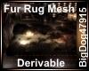 [BD] Fur Rug Mesh