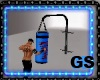 GYM PUNCHING BAG ANIM
