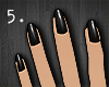 5. Black Nails