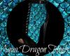 Aqua Dragon Heels