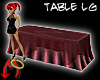 [m] Buffet Table Lg Burg