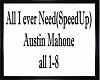 All i ever need(SpeedUp)