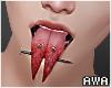 Split Tongue Blood. F