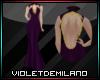 SONIA VIOLET DRESS