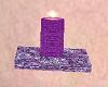 Attic Purple Candle