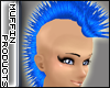 [m] Electric Blue Mohawk