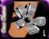 Silver Petals Bracelet L