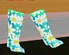 Kids Daisy Rain Boots