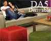 (A) Club Sofa Set