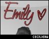 ! Emily <3 HeadSign v1