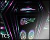 Neon coffin radio