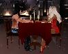 Romantic dinner w/ rose