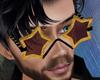 70s Star Glasses His2
