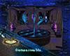 fontana rosa blu