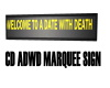 CD ADWD Marquee Sign