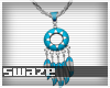 Takeo Aqua Necklace