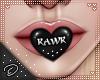 !D! Mouth Heart Rawr