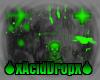 Acid/Toxic Backdrop