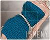 [Is] FUR Dress Blue