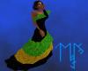 )L( Jamaican Gala dress