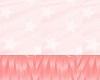Pink fox tail