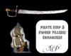 Pirate ship & Sword