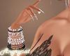 Pink & Black Bracelet R