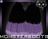 MoBoots BlackPurple2bⓀ