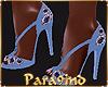 P9)Classy Blue Heels