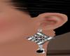 !   BLACKY EARRINGS
