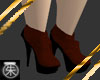 }T{ Red Broque Boots