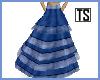 PR Folk Dance Blue Skirt