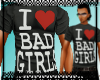 I Luv Bad Girls - Grey