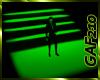Neon Green Staircase
