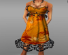 Orange Sun Dress