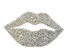 C* SILVER LIPS COUCH