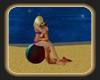 beach ball kiss