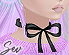 *S Pastel Winter Bow
