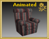 Striped Recliner