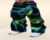 baggy animated rave pant