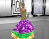 Mardi Gras Gown